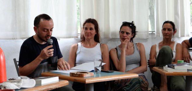 """Alessandro Iacovella habló de: """"El Fuego y la Especie Humana… el primer encuentro"""" en Parque Carcarañá"""